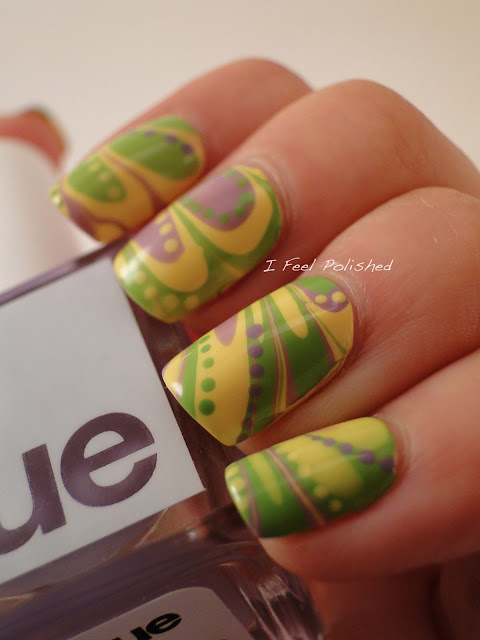 Square Hue Water Marble
