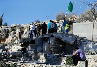 Palestinos terroristas perdem casas