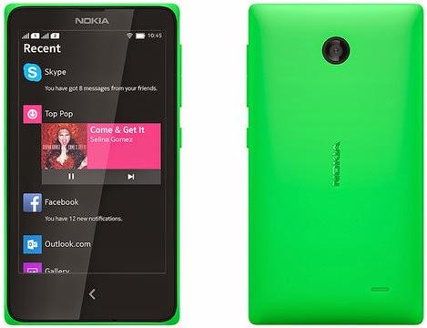 Harga Nokia X HP Android Dual Sim