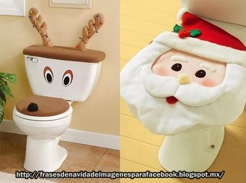 Que te parecen estas decoraciones navide as para tu ba o - Decoraciones para banos ...