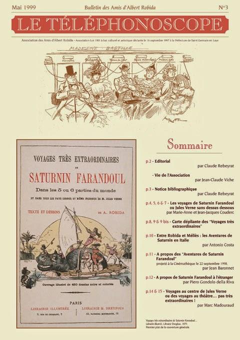 n°3 – Les Voyages très extrordinaires de Saturnin Farandoul