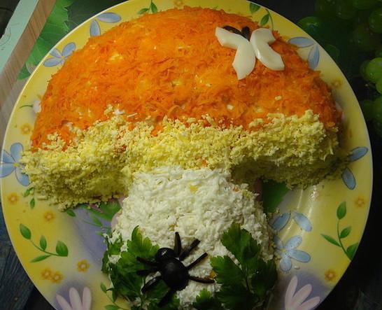 Салаты детское день рождения рецепты с фото