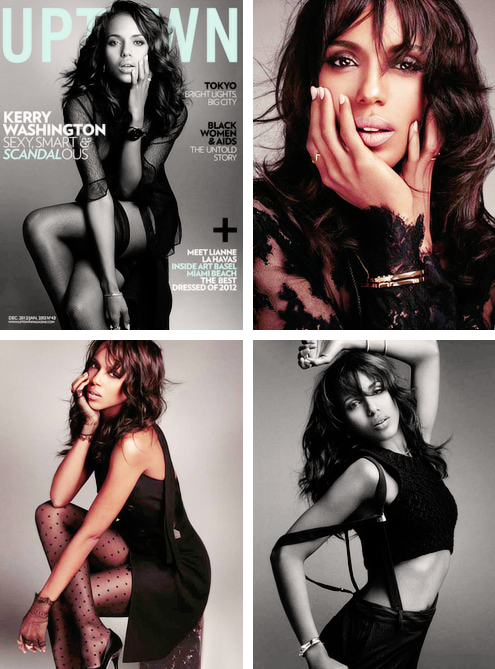 Kerry Washington covers uptown magazine