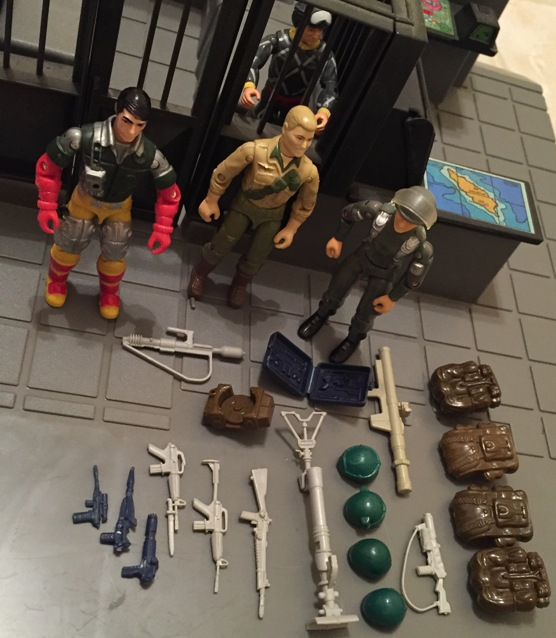 Hawk, MMS, 1982, Backstop, Argentina, Plastirama, Chinese Duke, Relampago, Python Patrol Ripcord, Brazil, Estrela, 1983 G.I. Joe HQ, , Battle Gear Pack #2