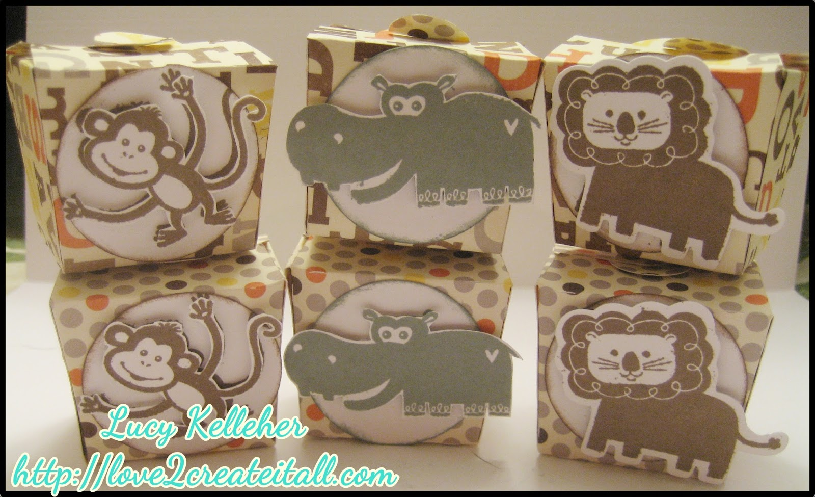 love 2 create baby shower party favors