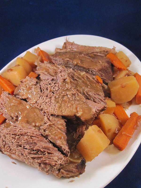 recipe: how to thicken pot roast gravy in crock pot [1]