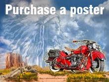 Purchase classic motorcycle poster