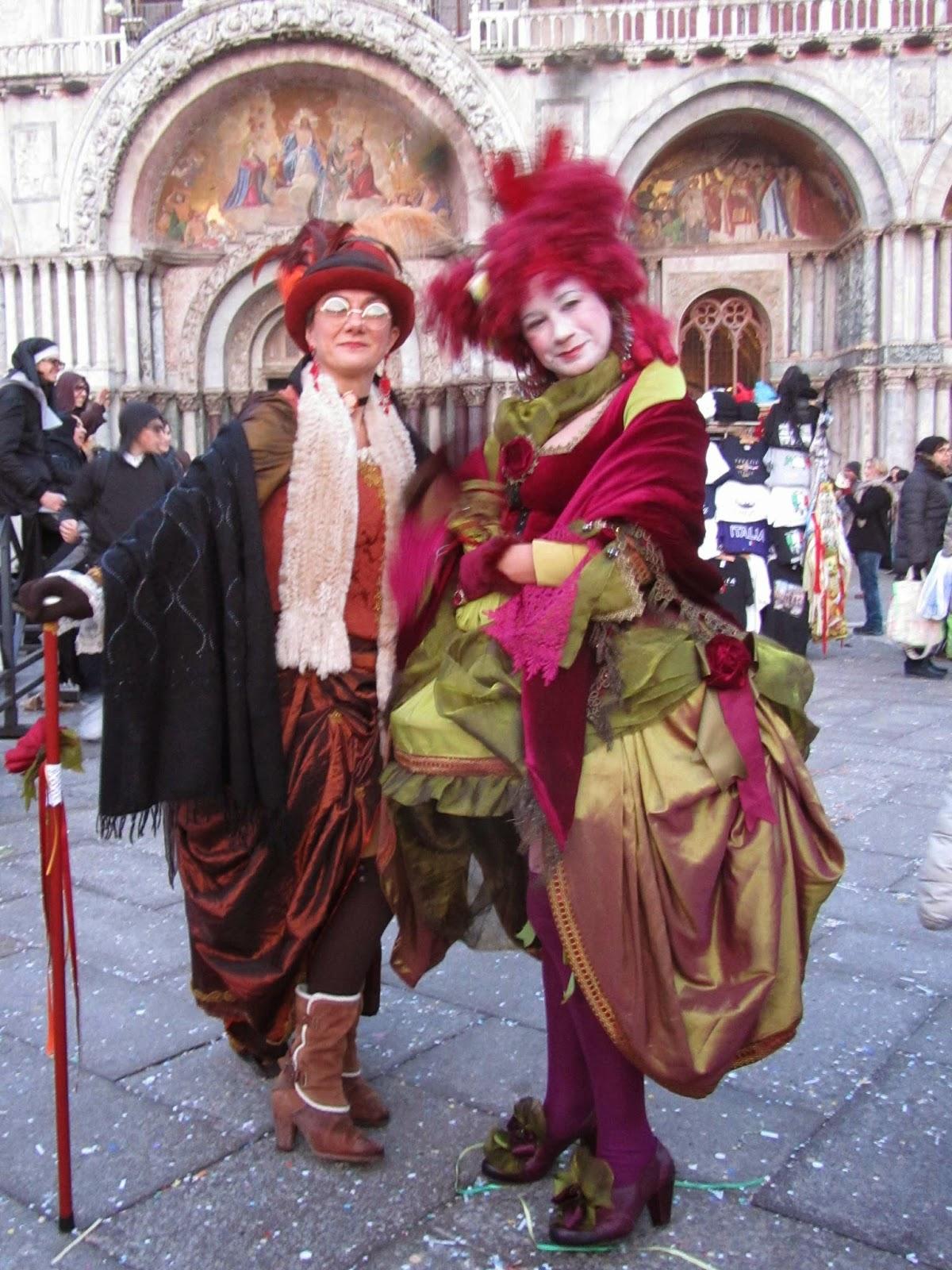 Carnival in Venice: costumes