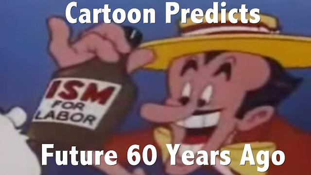 Cartoon Shockingly Predicted The Future 60 Years Ago