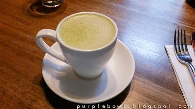 Operator 25 - Yuzu matcha latte
