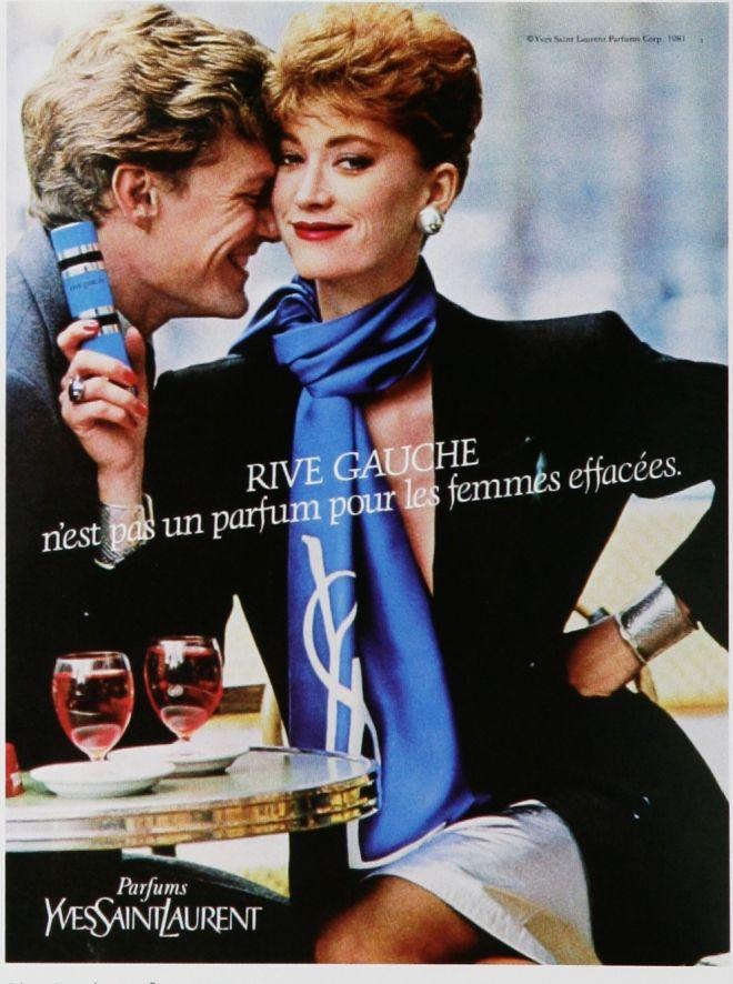 Yves Saint Laurent Perfume Ad