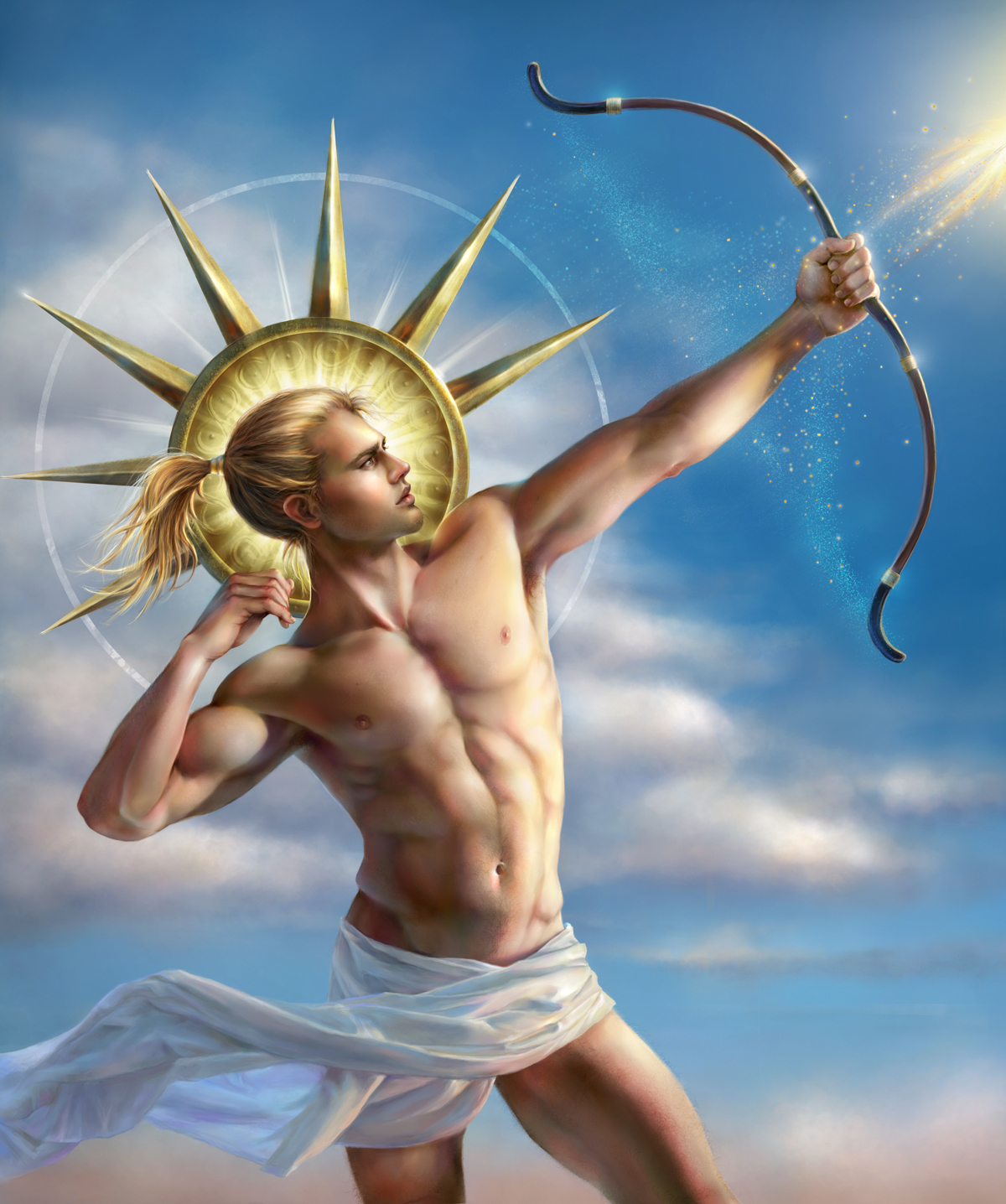 god of sun apollo