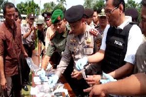 Operasi Anti Narkoba. Kotabumi Lampung Utara