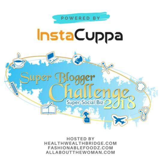 #SuperBloggerChallenge2018