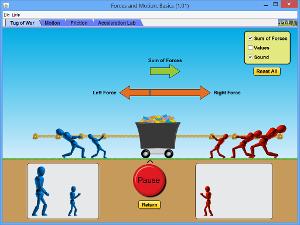 Simulasi Interaktif Fisika: Gerak dan Gaya