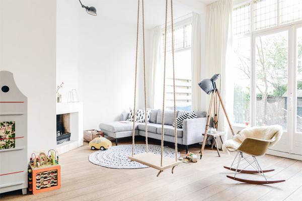 Ideeën Speelhoek Woonkamer : Beautiful Kid-Friendly Living Rooms