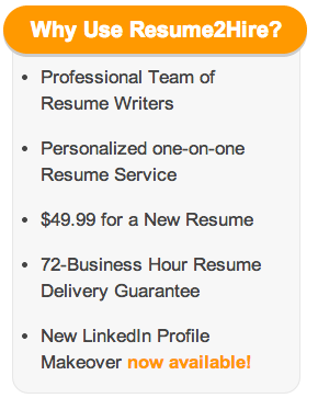 how much does a resume writing service cost