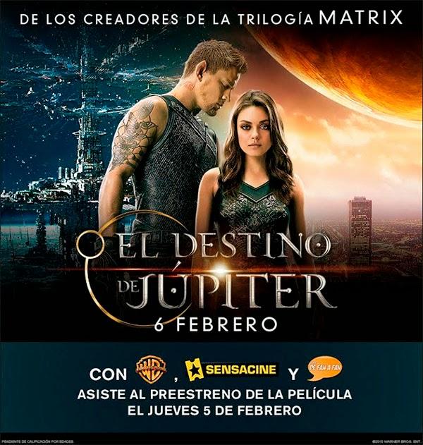 """Ganadores del Concurso / Preestreno de """"El Destino de Júpiter"""" en Sevilla"""