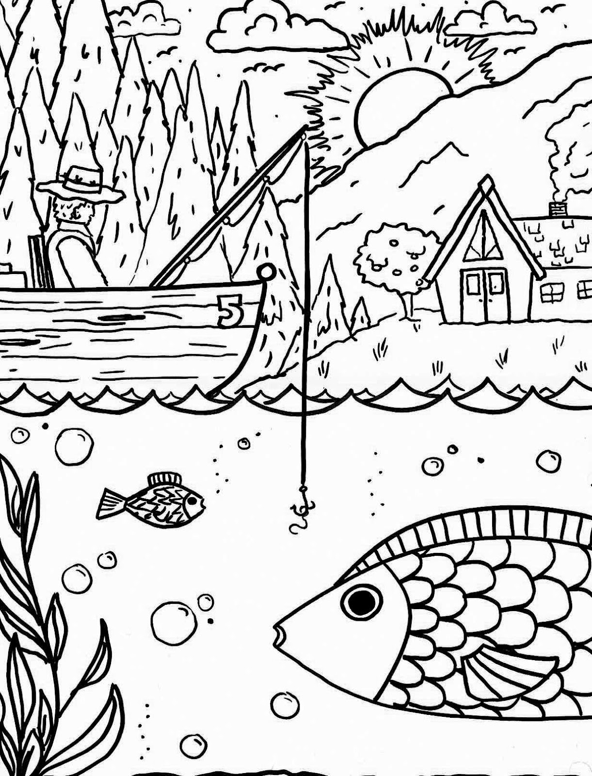 t lakes coloring pages - photo #15