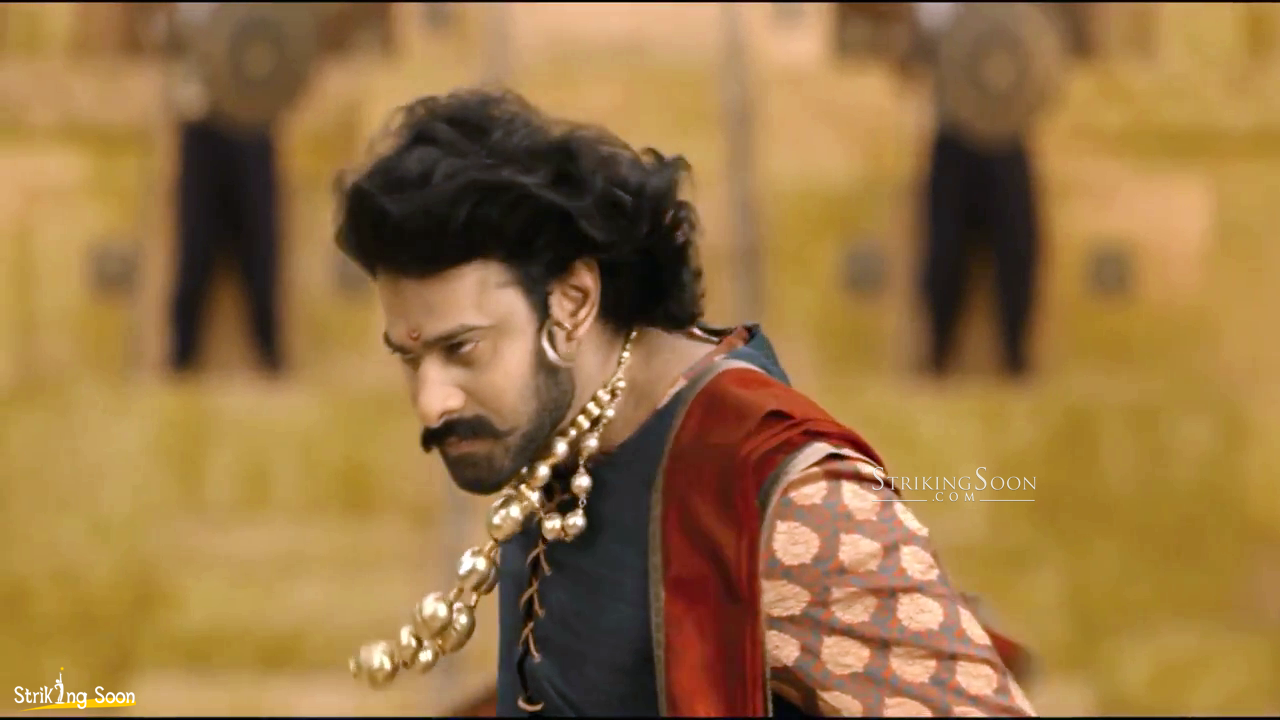 prabhas in baahubali first look. ~ strikingsoon
