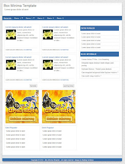 Download Template Putih Dan Sederhana