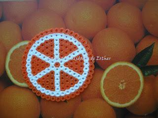 Posavasos Naranja