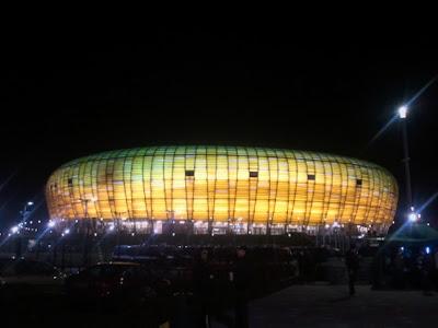 Estádio PGE em warclaw