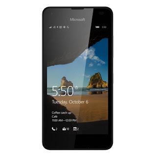Spesifikasi Microsoft Lumia 550