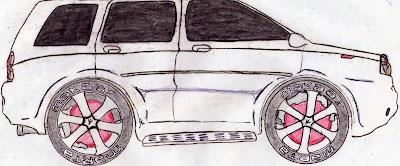 A Desenhar Designer carros bonitos colorir