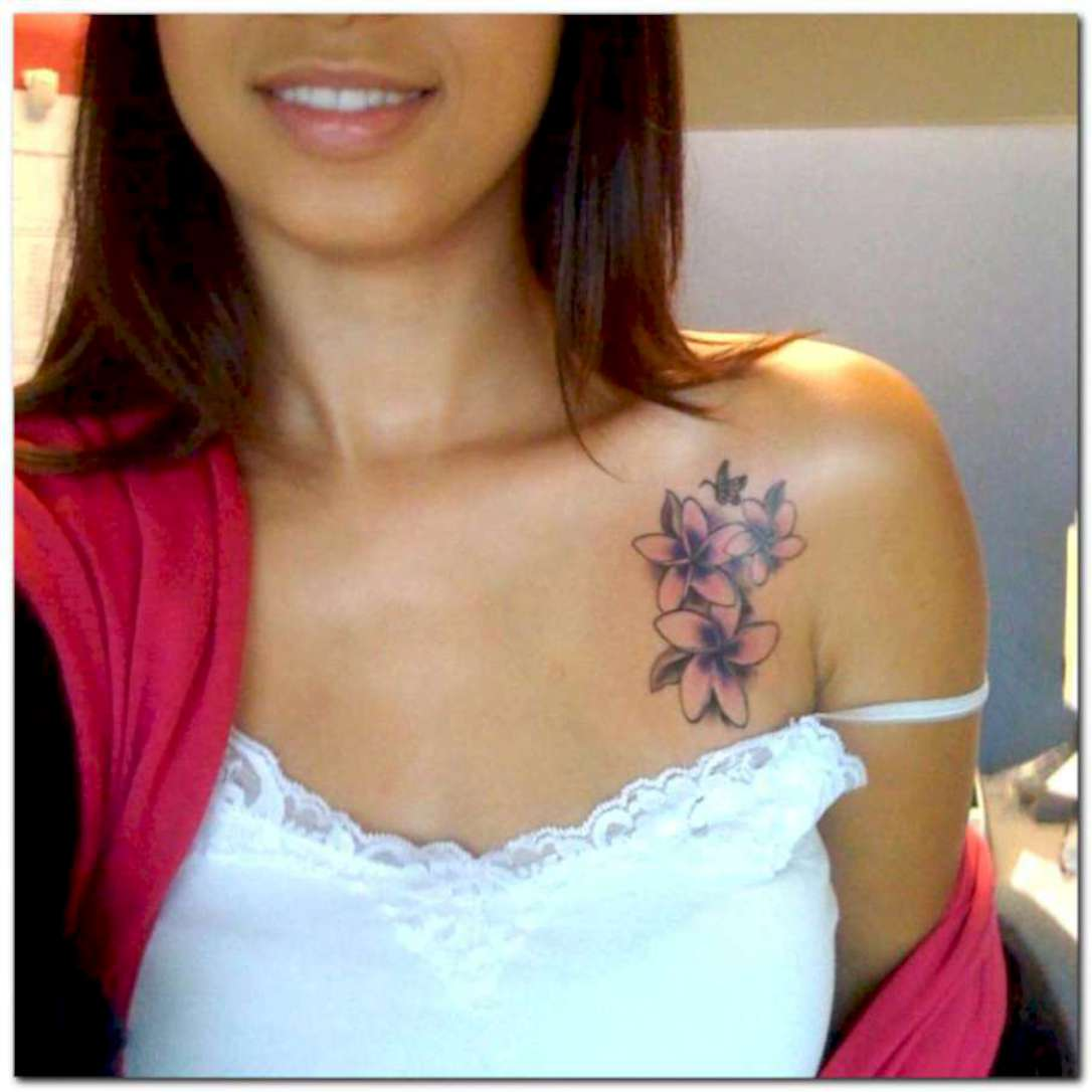 Фото татуировок для девушек черные