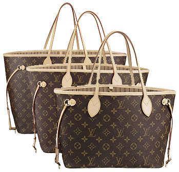 Poi ho scelto la Neverfull di Louis Vuitton, il prezzo di questa borsa