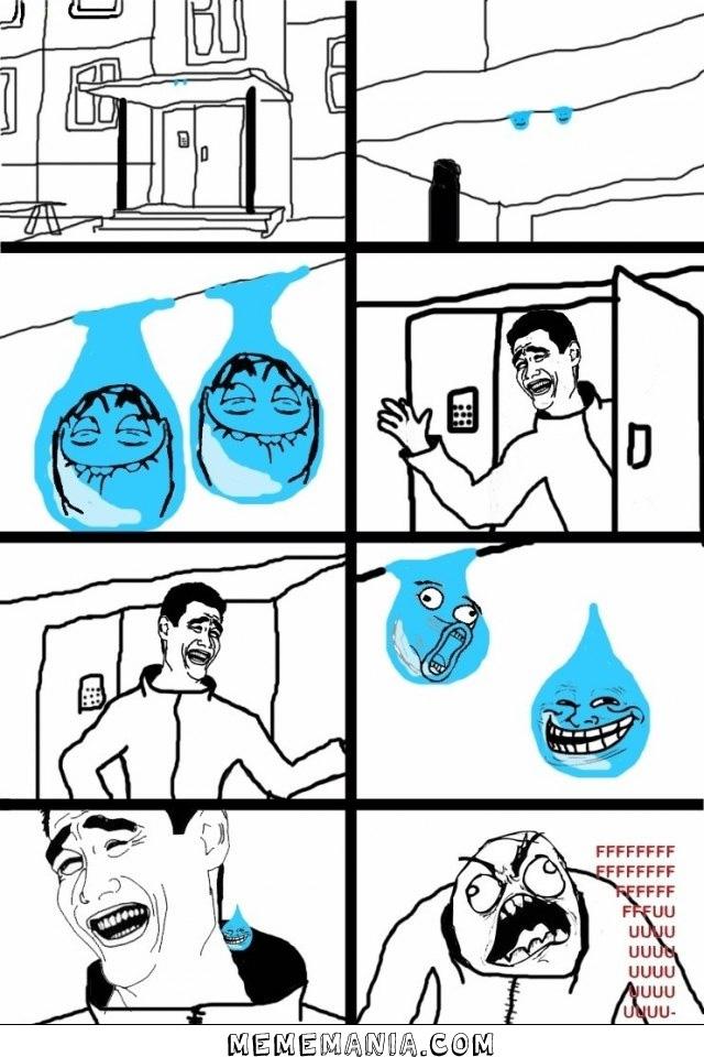 Gotas Trolls Meme Memes Tirinha