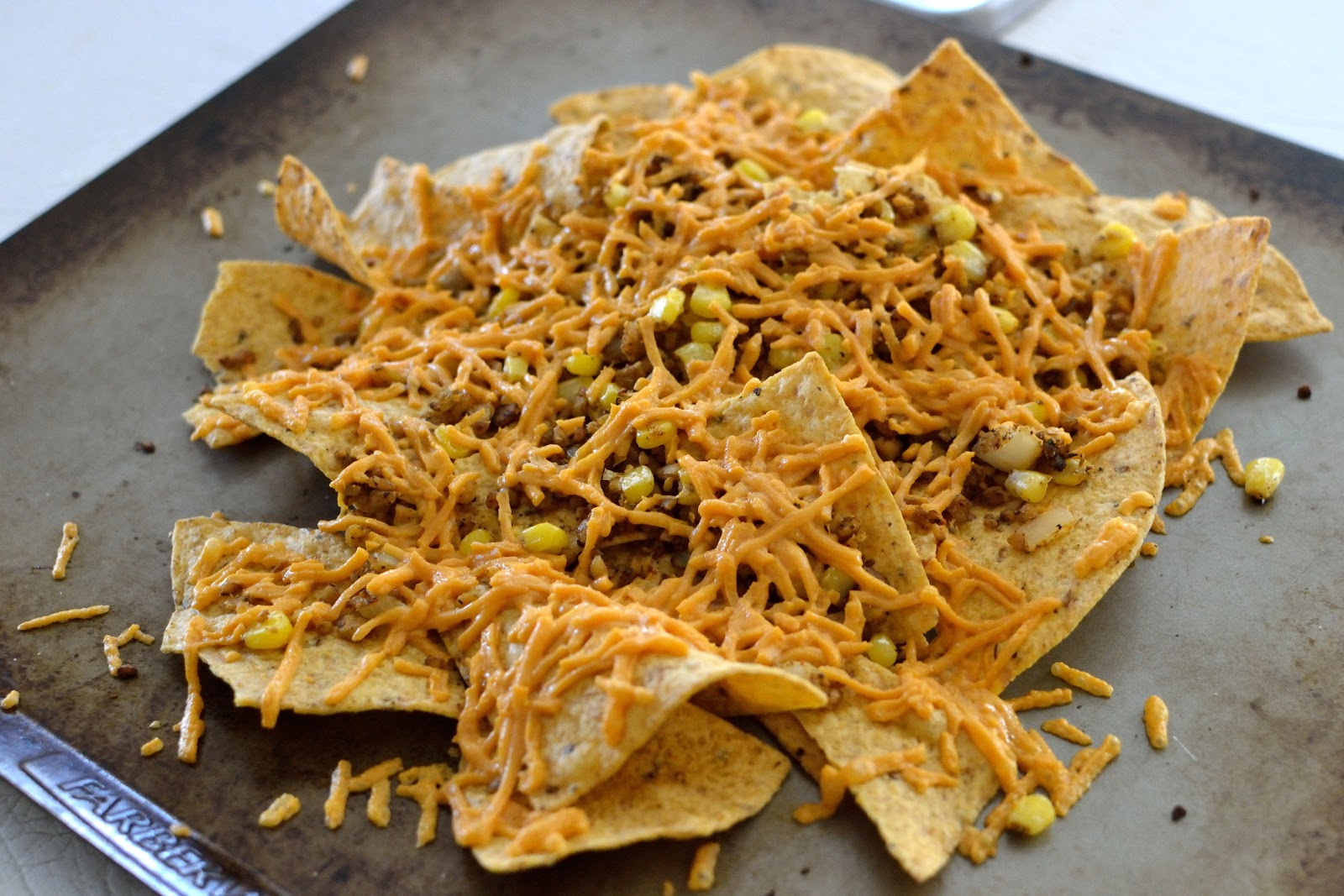 Spaghetti Nachos Recipe — Dishmaps