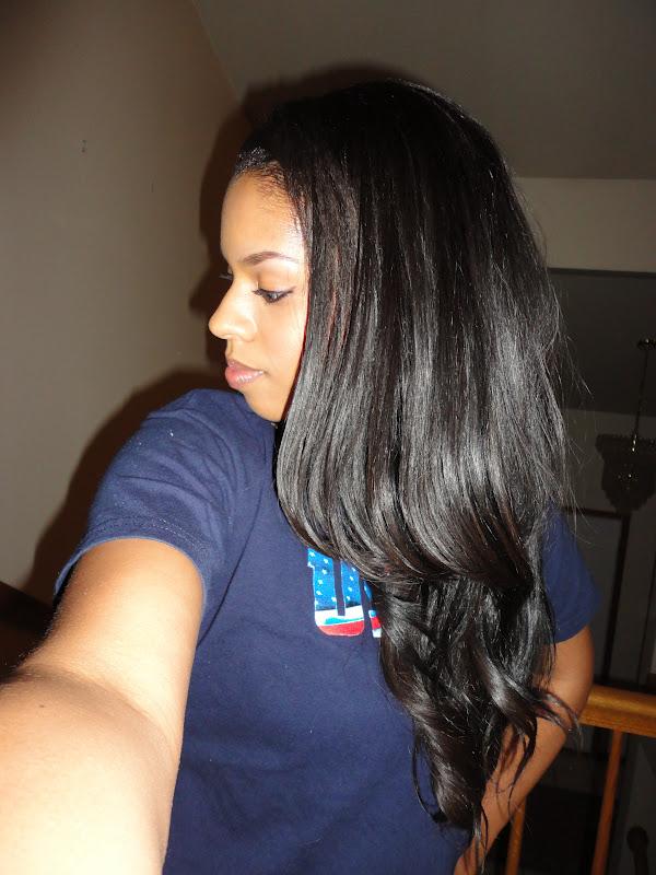 half up half down black hairstyles : Half Sew in Styles http://purebeautyhair.blogspot.com/p/half-wigs.html