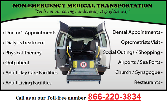 Non Emergency Transportation Services for abled in Arizona