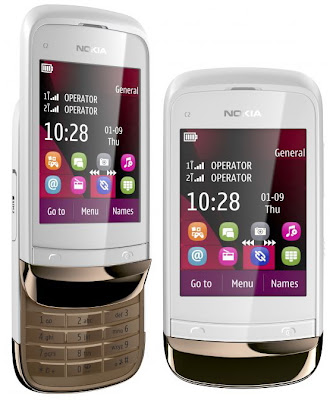 Nokia C2-03 Touch & Type Dual Sim GSM Mobile Phone Review and Specs