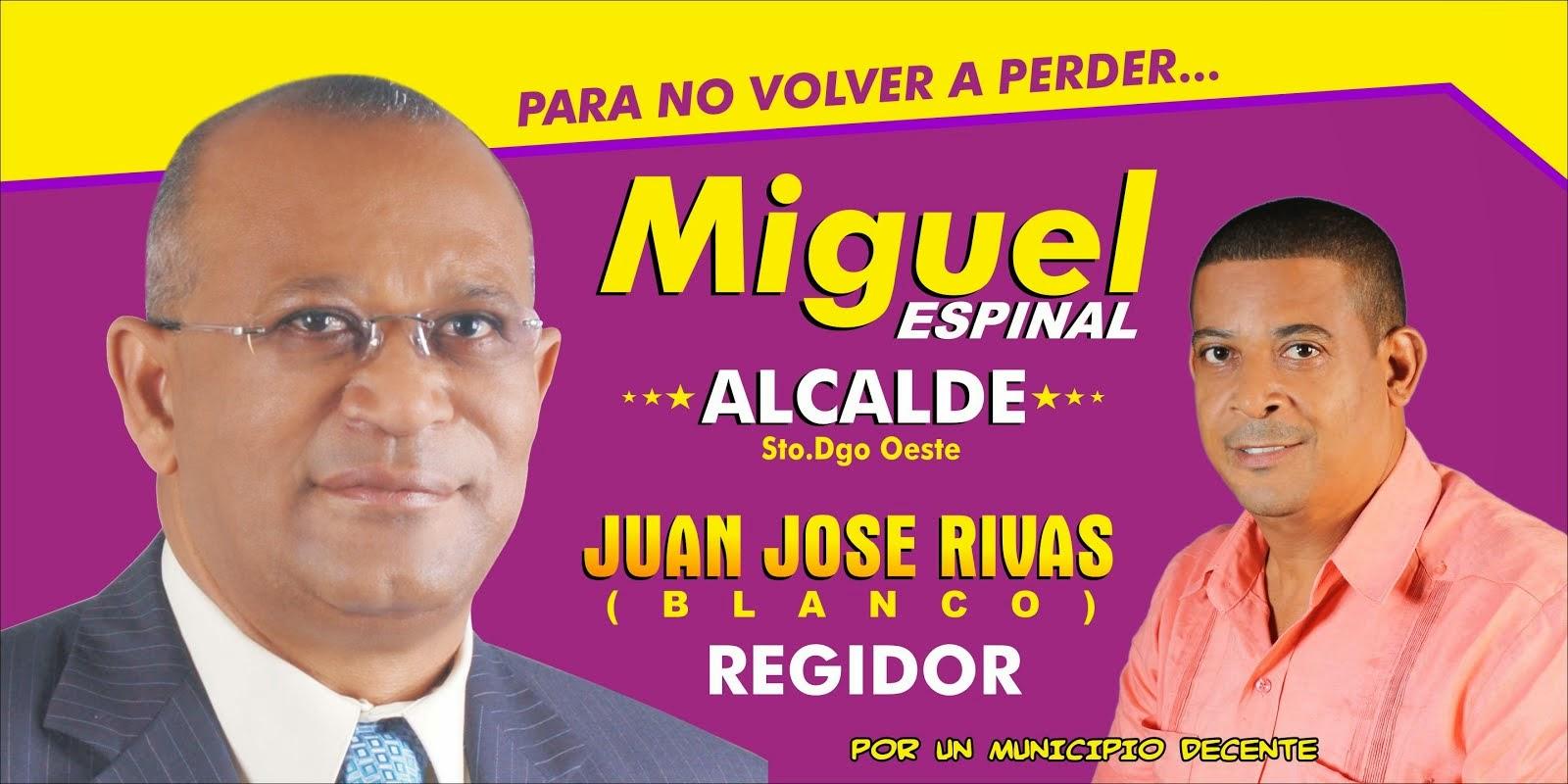 BLANCO RIVAS REGIDOR