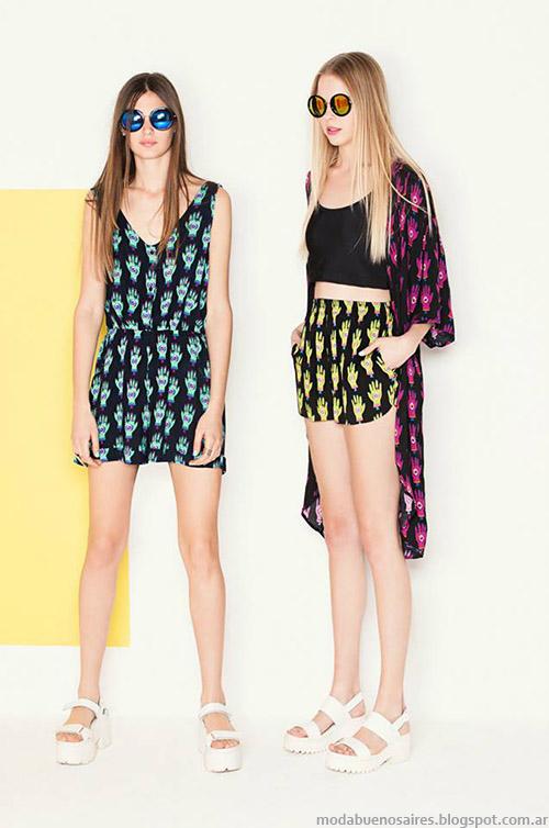Monos Complot primavera verano 2015. Ropa de moda primavera verano 2015.