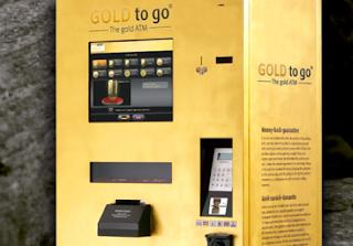 gold atm vending machine