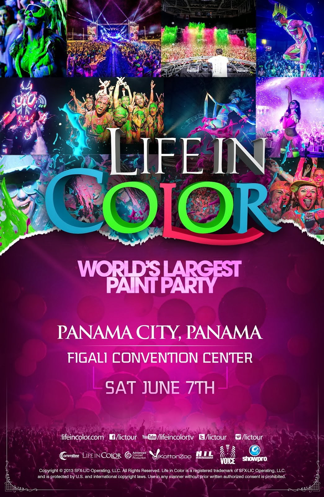 Life in Color 2014 -  Panamá