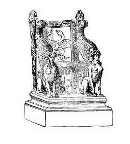 Houses In Ancient Rome Made Use Of Various Types Of Chairs. Stools, Folding  Stools And Benches Were Commonly Used, But Later These Began To Evolve Into  ...