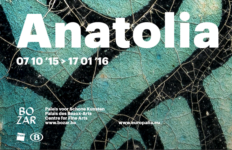 'Anatolia. Home of eternity' at the BOZAR - Centre for Fine Arts, Brussels