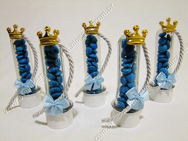 Lembrancinhas Personalizadas Frozen - Tubinhos