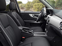 New 2012 Mercedes Benz GLK X204 FaceLift Interior Seats Source High Resolution Image