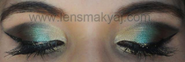 Arap Göz makyajı