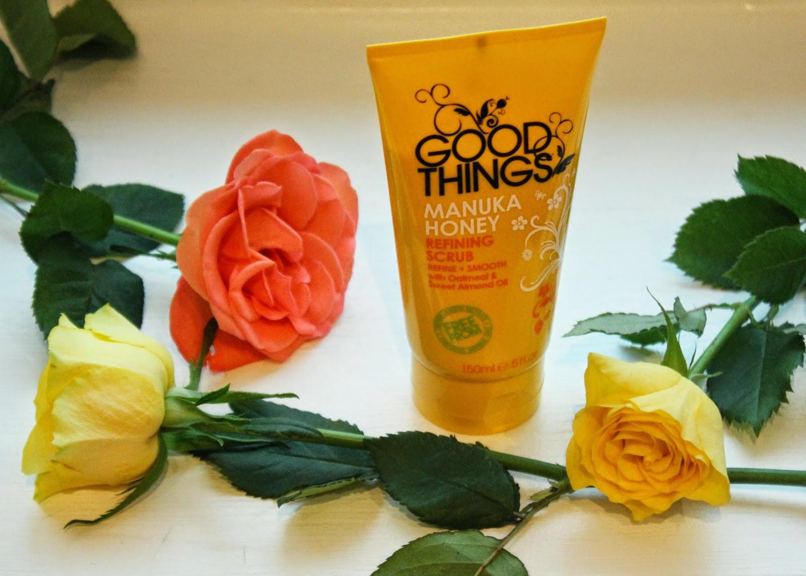 Good Things Manuka Honey Refining Scrub Review