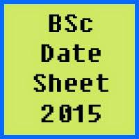 BZU Multan BSc Date Sheet 2016