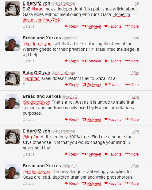 Why I usually don't waste time arguing with anti-Israel idiots
