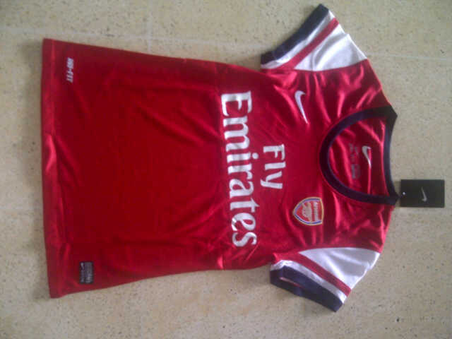 jersey arsenal for ladies 2013