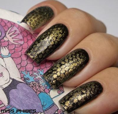 nail art snake nails